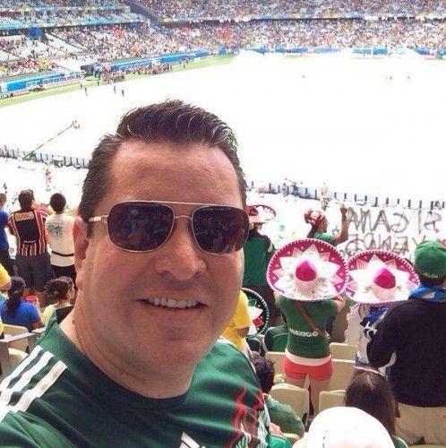 DAVID SANCHEZ GUEVARA EN EL MUNDIAL BRASIL