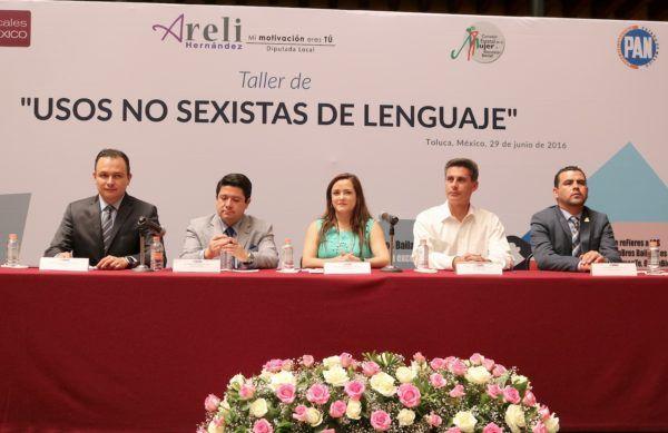 """Durante el Taller de """"Usos no Sexistas de Lenguaje"""", el diputado Raymundo Garza Vilchis dijo que la paridad de género es un reto, no sólo una moda de cómo se habla o se escribe un tema o una palabra."""