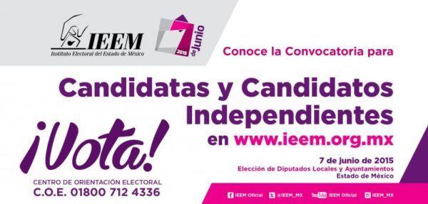CONVOCATORIA CANDIDATOS INDEPENDIENTES