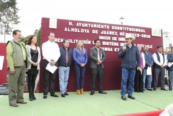 RED DE AGUA POTABLE EN TLALCILALCALPAN