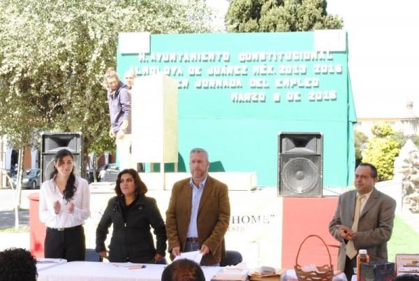 ACERCAN OFERTAS LABORALES EN ALMOLOYA