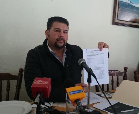 EDUARDO MARTINEZ GUERRA DENUNCIA A PLIEGO