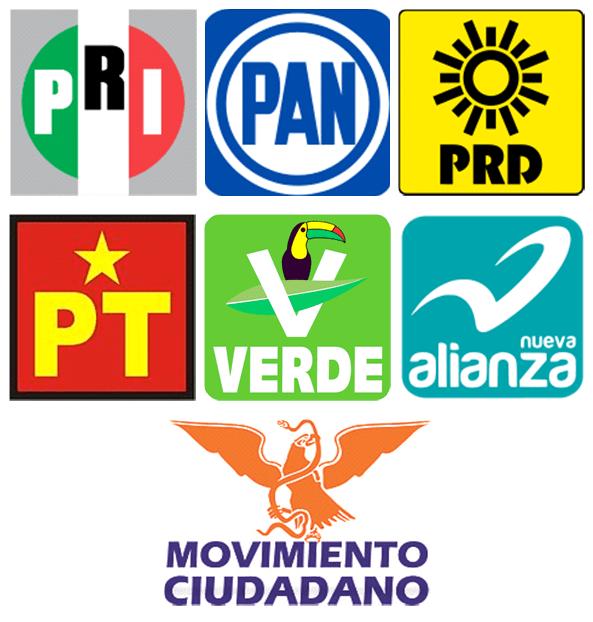 LOGOS DE PARTIDOS POLITICOS