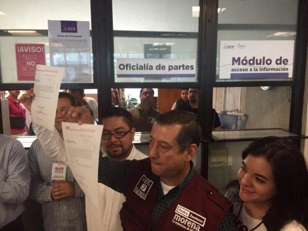 PEDRO ZENTENO REGISTRO DE CANDIDATOS