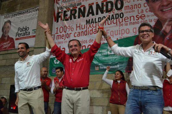 RED JOVENES CON FERNANDO MALDONADO