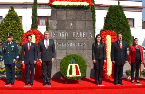 CEREMONIA DE ISIDRO FABELA AAC Y JMQ