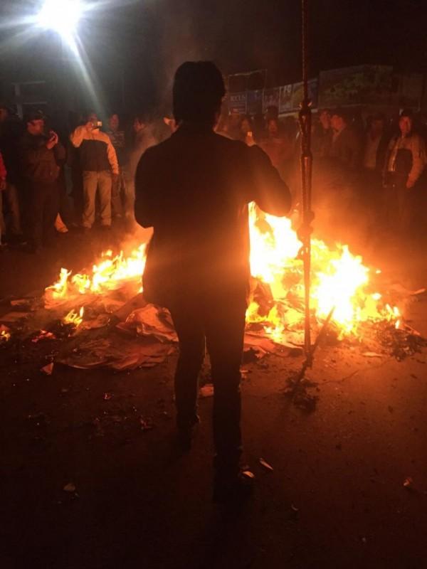 Disturbios en Almoloya