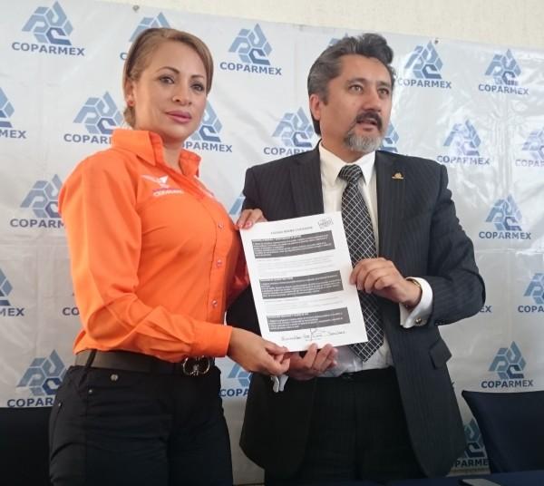 ESMERALDA DE LUNA AGENDA MINIMA COPARMEX