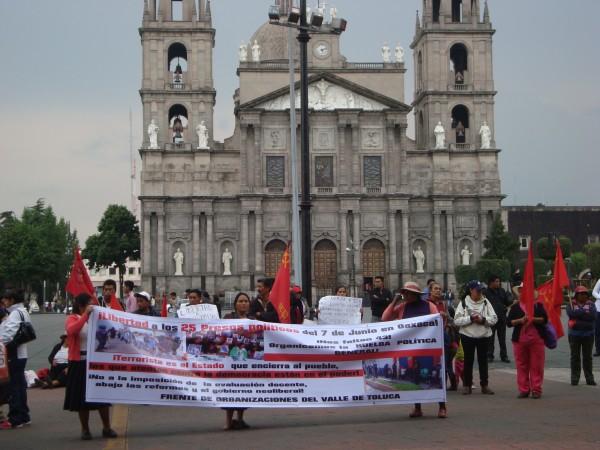 MARCHAN PARA PEDIR LIBERACION DE PRESOS