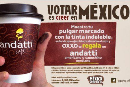 VOTO CAFE GRATIS