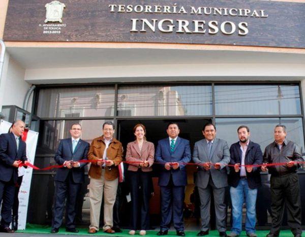 INAUGURACION DE OFICINAS DE TESORERIA BAJ