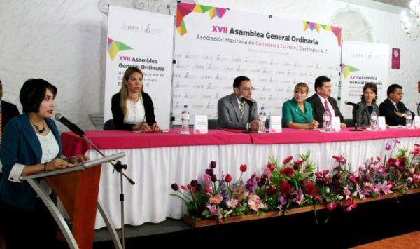 ASAMBLEA DE CONSEJERAS ELECTORALES