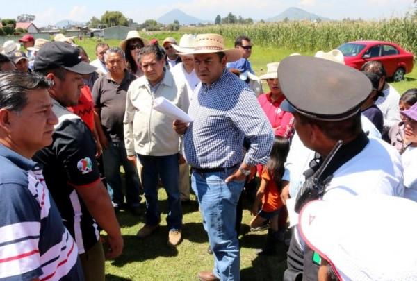 ATIENDE BRAULIO ALVAREZ COMUNIDADES LLUVIAS