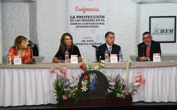 CONFERENCIA PROTECCION DE LAS MUJERES