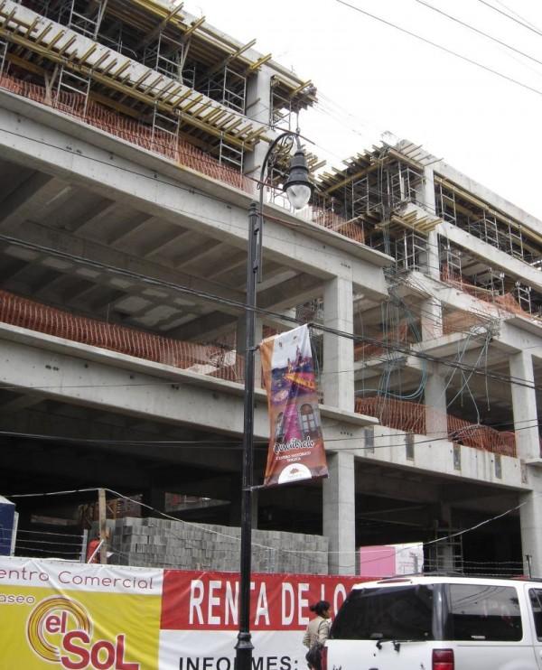 CONSTRUCCION PLAZA EL SOL TOLUCA