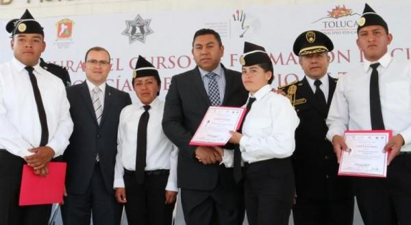 CURSO DE POLICIAS TERMINA BAJ Y RC