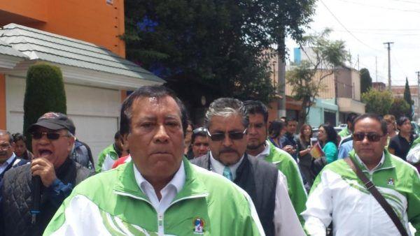 NORBERTO LOPEZ CONVOC A MARCHA CONTRA CANDIDATO