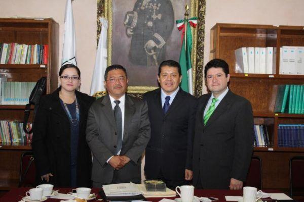 SERGIO MENDIOLA CON VITORINO BARRIOS Y HUIZAR