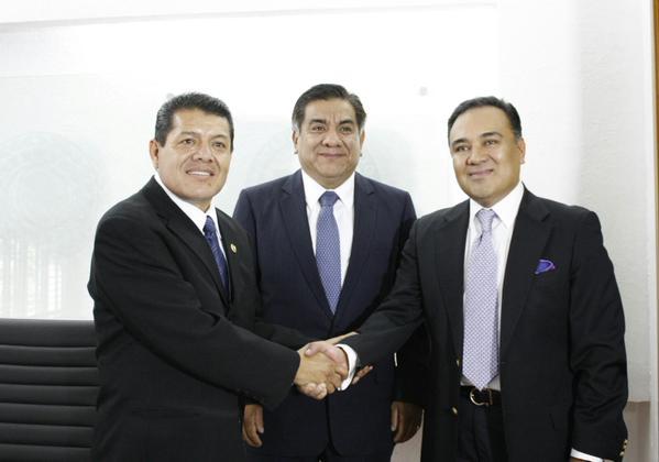 SERGIO MENDIOLA, OSCAR SANCHEZ Y ULISES RAMIREZ