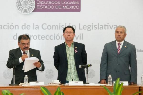 ABEL VALLE INSTALA COMISION DE PROTECCION CIVIL