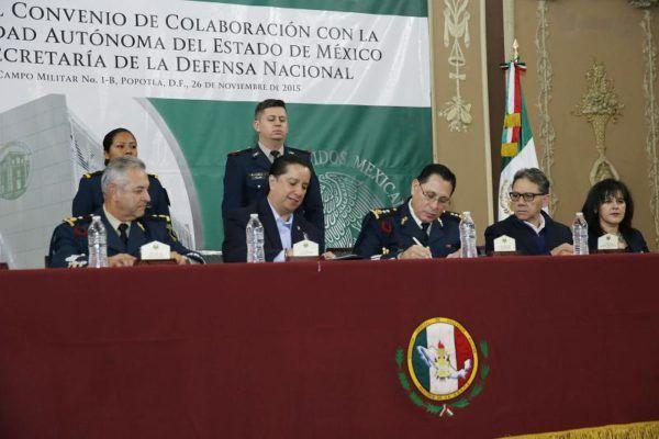CONVENIO CON EJERCITO Y FUERZA AREA