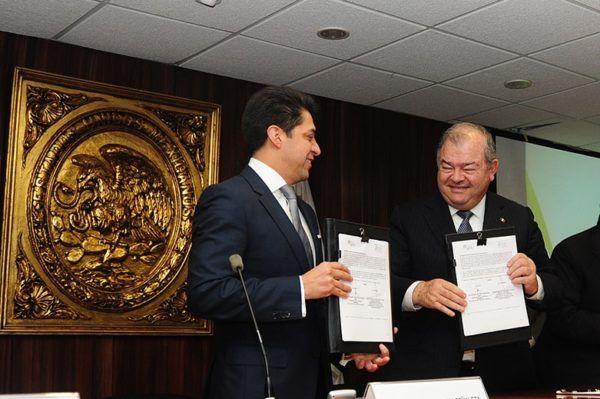 CONVENIO ENTRE EDOMEX Y D.F EXHORTOS JUDICIALES