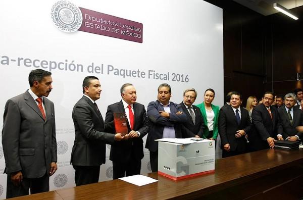 ENTREGA DEL PAQUETE FISCAL 2015