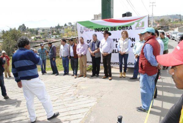 INICIAN OBRA HIDRAULICA EN ALMOLOYAN