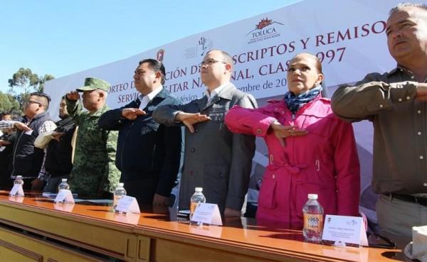 PRESIDE BRAULIO ALVAREZ SORTEO DEL SMN