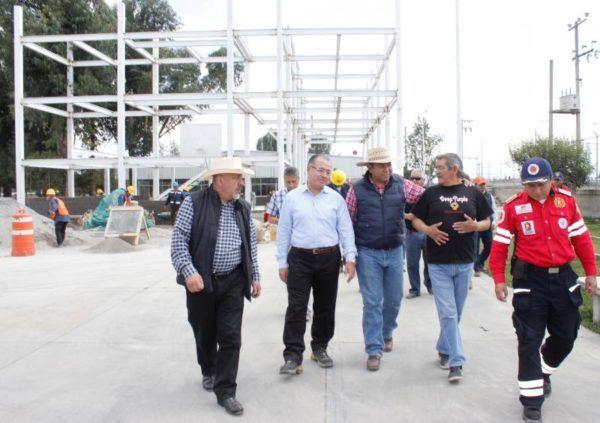 SUPERVISA BRAULIO ALVAREZ  OBRAS DE ALTO IMPACTO