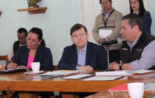 SUPERVISAN COMPROMISOS EN ATLACOMULCO EDMUNDO RANERO