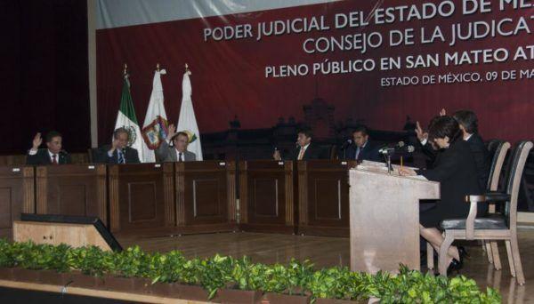 SESION DEL CONSEJO DE LA JUDICATURA