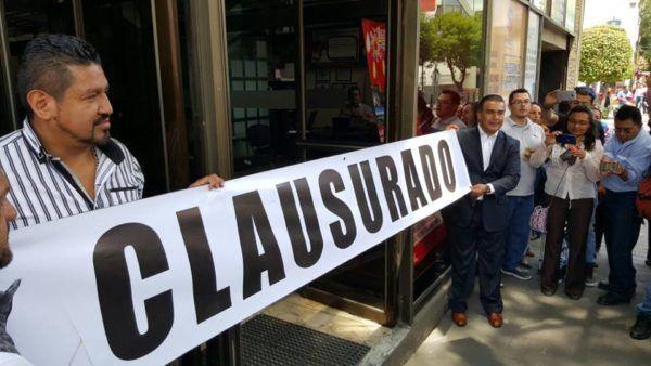CLAUSURAN OFICINAS DE GRUPO HIGA OMV