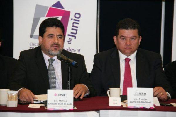 Partidos Políticos y el IEEM podrán presentar propuestas para los 45 distritos basados en los criterios y lineamientos suscritos por el INE