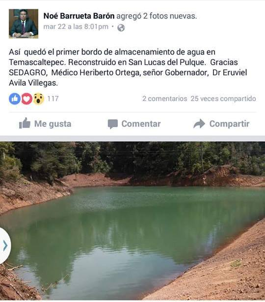 RECLAMOS A NOE BARRUETA EN LAS REDES SOCIALES R