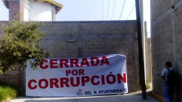 CERRADA POR CORRUPCION