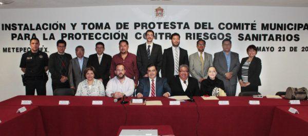INSTALAN COMITE CONTRA RIESGOS SANITARIOS
