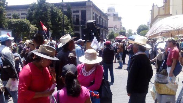 MANIFESTACION DE ANTORCHISTAS EN TOLUCA