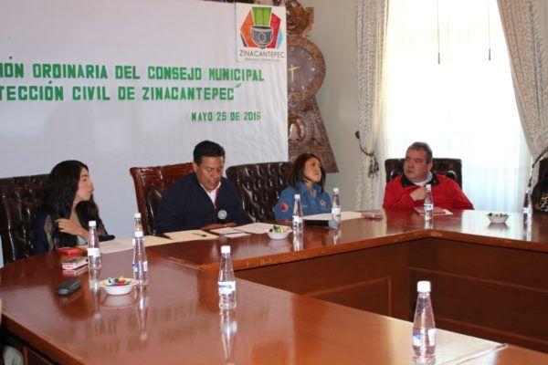 SEGUNDA SESION DEL CONSEJO DE PROTECCION CIVIL