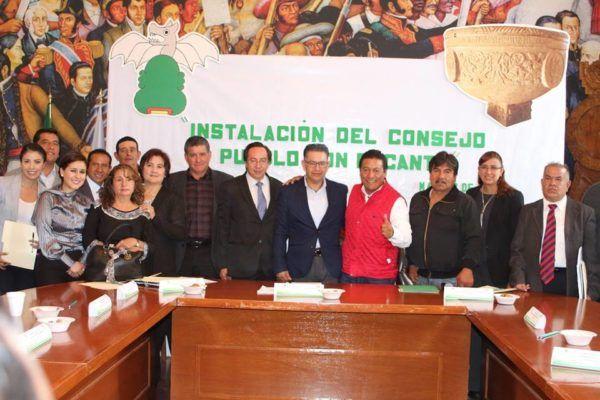 TOMA PROTESTAS CONSEJO PUEBLO CON ENCANTO