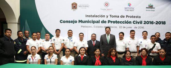 CONSEJO MUNICIPAL DE PROTECCION CIVIL 2016