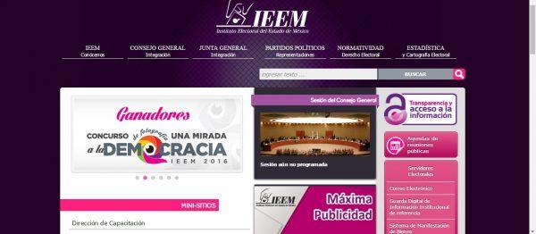 La lista se puede consultar en la página electrónica del IEEM (www.ieem.org.mx).