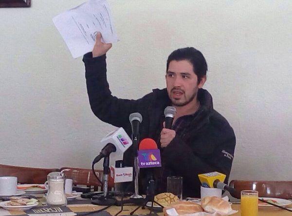 Mario Adrián de la Garza; locatario afectado por los robos