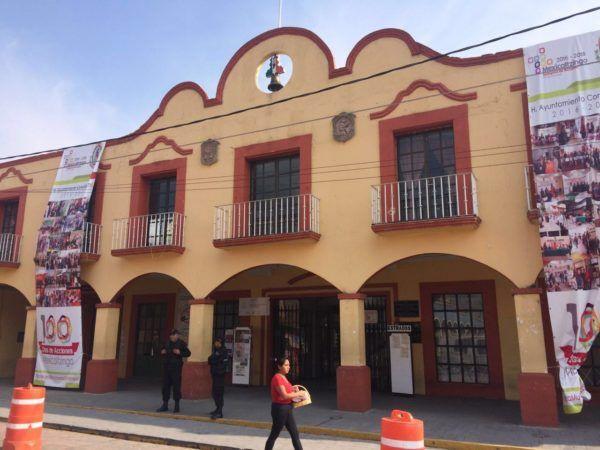 Palacio Municipal de Mexicaltzingo