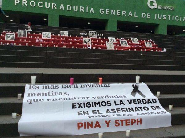 """""""Queremos justicia, que ningún caso que se impune, no más sangre, no más sangre para estos asesinos que matan por gusto o dinero"""", expresaron"""