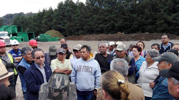 """""""... Nosotros vamos a fijar una renta de acuerdo a la opinión de toda la comunidad, de la superficie y de los daños que ya ocasionaron ecológicamente…"""" dijo, Víctor Rodríguez, comunero."""