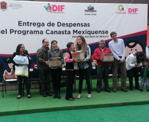 870 familias de 37 comunidades de Metepec se ven beneficiadas cada bimestre