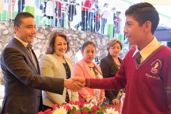 El diputado celebró que el municipio de Texcaltitlán, que pertenece al distrito que representa, sea una de las 11 nuevas sedes de esta institución.