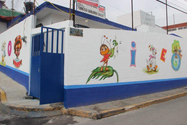 En los primeros meses de gobierno se rehabilitaron 15 jardines de niños y 3 deportivos.