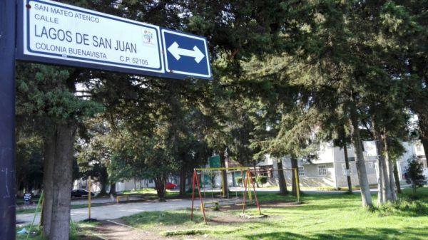 """""""...Antes de que se meta el sol  en el transcurso del día pasa bastante gente y ya lo que es en la noche no tenemos alumbrado en esta zona del parque…"""" informó José Luis, vecino"""